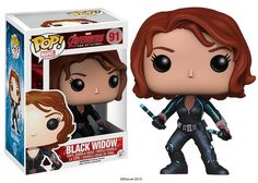 Great news for Avengers fans as today Marvel and Funko announced that Black Widow would be a part of the new Funko line! Black Wido will be in stores and online in May. I must say she's looking particularly beautiful (and deadly) in her new Pop! form.</p>