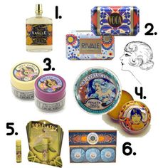 Art Deco and Art Nouveau Packaging A gift for me, a gift for you...beautiful goodies for well-stocked vanity.   Art Deco and Art Nouveau Pac...