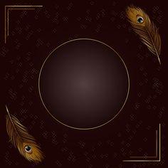 Elegant Golden Feather Background With Letterhead Design, Resume Design Template, Feather Background, Frame Template, Background Templates, Dark Beauty, Prints For Sale, Business Card Design, Flyer Design