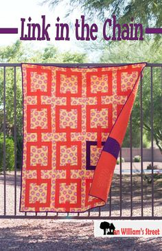 Link in the Chain quilt pattern by On William's Street on Etsy