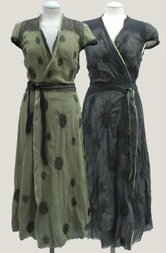felted dresses by Christine Birkle - don't really care about the felt but the cut of the dresses is lovely, slightly old-fashioned.
