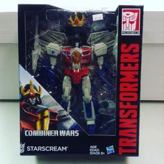 #transformers #combinerwars #starscream #actionfigure buy it now on our page timewarpcomicbooks.com or instagram timewarpcomics or here on our page using buyable pins !