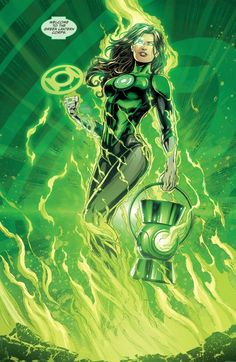 The new Green Lantern Jessica Cruz