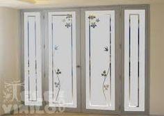 Resultado de imagen para vinilos para puertas Window Glass Design, Frosted Glass Design, Frosted Glass Window, Etched Glass Door, Glass Pantry Door, Glass Barn Doors, Glass Front Door, Glass Shower Doors, Glass Block Crafts