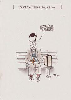 Don Cástulo: Forrest Gump español