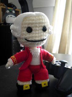 Mozart amigurumi crochet, by MarinaYeah