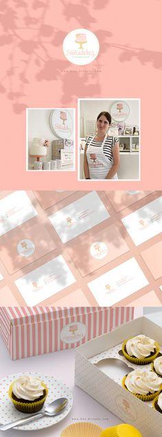 Sütisdoboz Tortadekoráció www.One-Giraphe.com  #cake #logo #portfolio #logodesigner #logodesign #logos #bakery #sweet #pink #designer Bakery Logo Design, Cake Logo, Branding, Frame, Beverages, Pink, Sweet, Ideas, Food