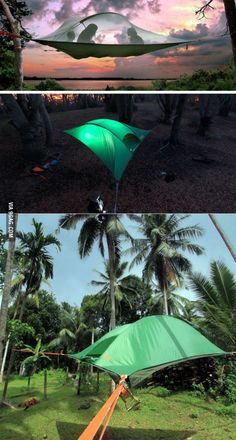 Tentsile Stingray treehouse - TENT For all your camping & food needs - www.motherearthproducts.com.