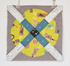Wake Up Call and Transmission Quilt Pattern. | badskirt