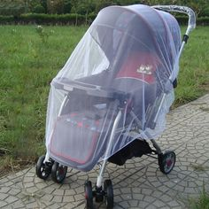 Baby Stroller Insect Net  Great For Camping!