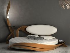 Круглая кровать Бразо