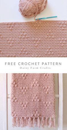 Free Crochet Pattern - Triangle Puffs Blanket Free Crochet Pattern - Triangle Puffs Blanket,c r o c h e t . l o v e Free Crochet Pattern - Triangle Puffs Blanket yoda crochet pattern amigurumi yoda knitting pattern crochet pattern Crochet Crafts, Easy Crochet, Crochet Baby, Crochet Projects, Knit Crochet, Easy Knitting Projects, Crochet Ornaments, Crochet Snowflakes, Crotchet