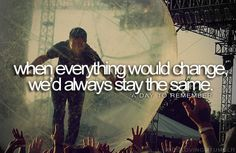 a day to remember<3 if i leave