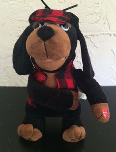 Pan Asian Plush Hound Dog Arm Farting Noises 3 Songs 2011 See Video #PanAsian
