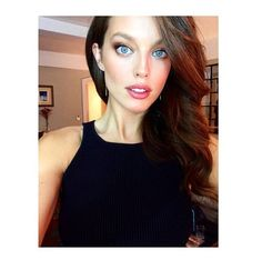 Supermodel @emilydidonato1 jaw dropping this morning. Makeup by Nina Parks, hair by Jennifer Yepez. #SISwim