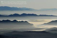 Villuercas en la niebla
