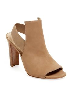 392cdb6c1fa STUART WEITZMAN FRONTON NUBUCK SLINGBACK BOOTIE.  stuartweitzman  shoes