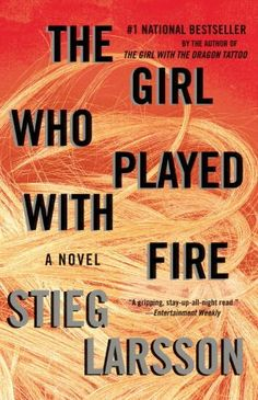 Just about half way through this book.  While The Girl with the Dragon Tattoo was awesome, I think this second installment far surpasses the first.  A gripping page-turner for sure.