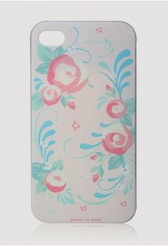 Floral Print Cellphone Case for Iphone4/4s - New Arrivals - Retro, Indie and Unique Fashion #Chicwish