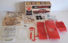 For sale is rare find! An Unbuilt AMT 1965 Plymouth Valiant Signet Hardtop Craftsman Series. This kit is 100% complete, the windshield is scratched and one screw holder is broken off. This model scale is 1/25th and has a screw chassis. | eBay!