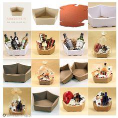 Eco koszyk na prezenty