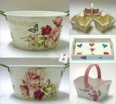 Decoupage, Felt Patterns, Shabby Vintage, Cool Words, Planter Pots, Decorative Boxes, Diy Crafts, Fancy, Sheds