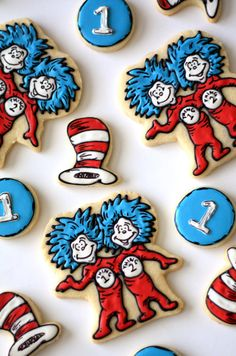 Sugar Cookies Dr. Seuss