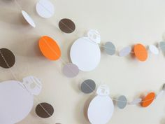 Star Wars BB8 Inspired Birthday Party Decor Garland | Star Wars Inspired Party Decor | Force Awakens