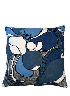 A Loja do Gato Preto | Capa de Almofada Flor Azul #alojadogatopreto