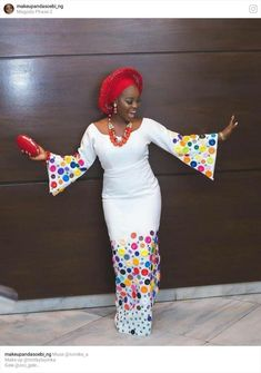Sweet combo ♥ Make up Gele Asooke Accessories Purse & Shoes… African Tops, African Wear, African Attire, African Fashion Dresses, African Women, African Dress, Ankara Fashion, African Style, Native Wears
