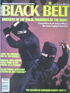 6/77 BLACK BELT GEORGE DILLMAN JAY T. WILL NINJA KARATE KUNG FU MARTIAL ARTS