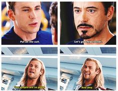 Petty and tiny | The Avengers