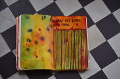Wreck this Journal: 'draw fat lines and thin'
