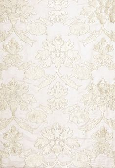 Roussillon Embroidery Chalk Fabric SKU - 65291