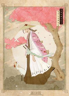 Shunsui Kyoraku by MATTIAS FAHLBERG /