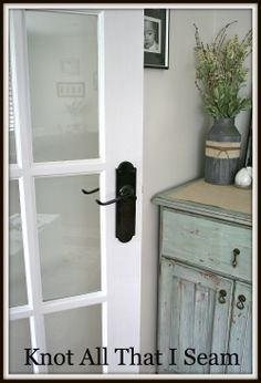 """""""I spray painted the handles with a grey metal undercoat.  Then applied 2 coats of gloss black spray paint."""""""