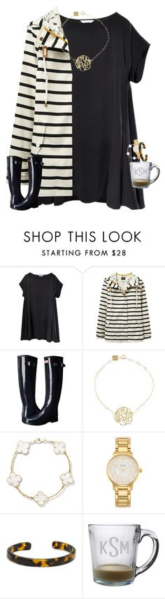 """""""Fri yay"""" by tristin-loves-dance ❤ liked on Polyvore featuring Joules, Hunter, Ginette NY, Kate Spade and BaubleBar"""