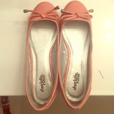 Pink ballet flats Pink ballet flats from Charlotte Russe ; Size 7 ; Only worn once Charlotte Russe Shoes Flats & Loafers