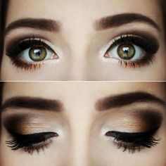 Perfect subtle Smokey eye