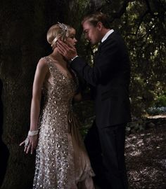 "Catherine Martin on Creating the Costumes for  The Great Gatsby  CAREY MULLIGAN as Daisy Buchanan and LEONARDO DiCAPRIO as Jay Gatsby in Warner Bros. Pictures' and Village Roadshow Pictures' drama ""THE GREAT GATSBY,"" a Warner Bros. Pictures release."