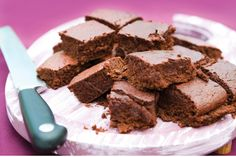 Beetroot Chocolate Brownies   Sweets & Dessert Recipes   Rosemary Conley TV