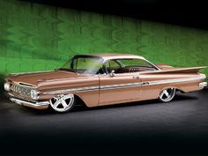59 Impala - except mine would be snazzy red or vibrant blue!!