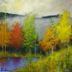 Jeff Koehn - Fall Colors - 30 x 30
