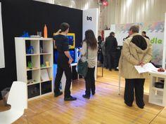 Stand de bq en la feria de impresión 3D de Nueva York #3Dprinter #Witbox