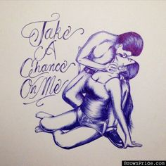 Take A Chance On Me • Barrio Art and Graphics Chicano Love, Chicano Art, Couple Drawings, Love Drawings, Aztecas Art, Chicano Drawings, Gangsta Quotes, Cholo Art, Lowrider Art