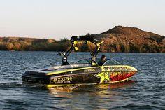 Rockstar Wake Boat