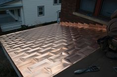 Copper shingles, www.1stchoiceroofing.com
