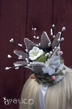 "Crown-I am looking at this thinking, ""That's a pretty cool idea."" There may be felt crowns in my future."