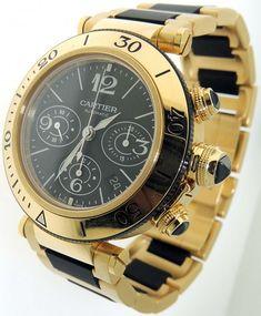 Most #Expensive Women #Watch Brands in the World: Cartier Pasha de Cartier Small Model Watch  Price – $123,000