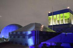 @Papalote_Museo Mexico DF, se ilumina de azul para conmemorar el Día Mundial sobre el #Autismo  #LIUB